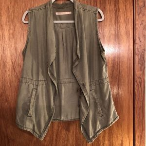 Max Jeans Vest, Size Medium